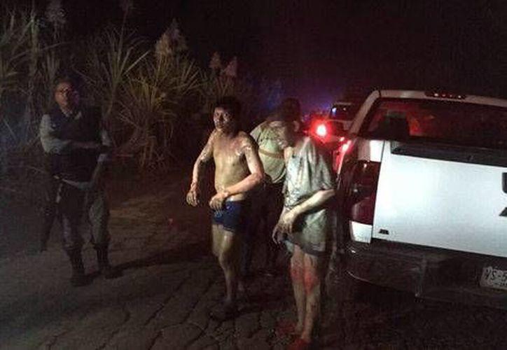 Pemex reportó que entre los lesionados por el incendio de un ducto en Cárdenas, Tabasco, no hay trabajadores de la empresa estatal. (Milenio Digital)