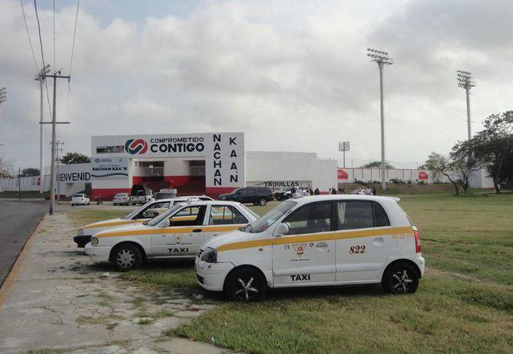 Las unidades estarán en el estacionamiento del parque deportivo Nachan Ka'an. (Harold Alcocer/SIPSE)