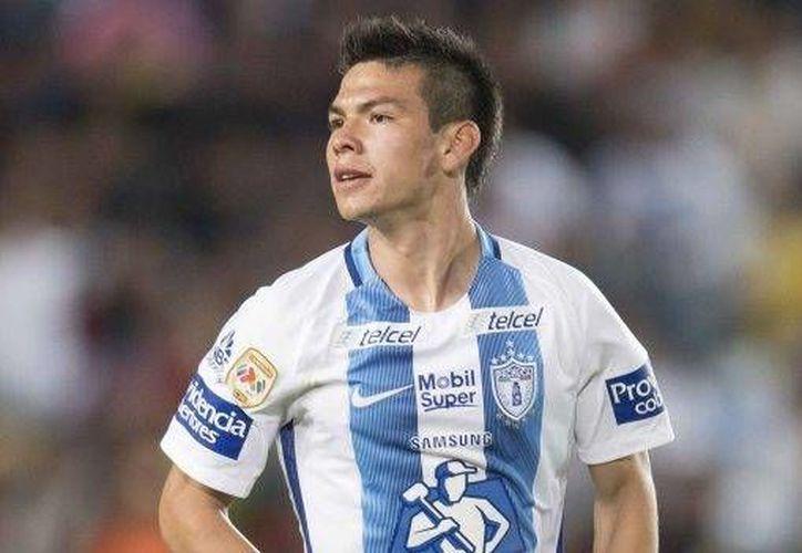Hirving Lozano es ya uno de los 10 máximos goleadores en la historia del Pachuca y ya ha jugado con México. (mexsport.com)