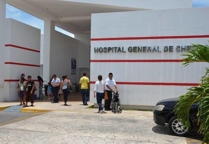 Para la obra de remodelación del Hospital General de Chetumal se destinaron 36 millones de pesos. (Gerardo Amaro/SIPSE)