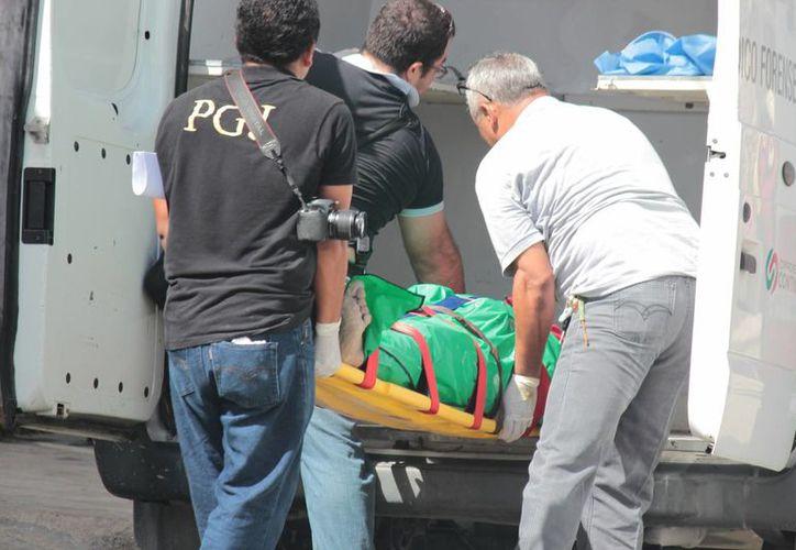 El cuerpo sin vida del dueño de una herrería fue hallado ayer en un pozo. (Gustavo Villegas/SIPSE)
