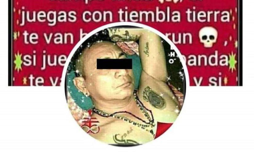 Presuntamente este individuo sería el que atacó al gato, ya que así lo afirmó en sus redes sociales según testigos y vecinos de Progreso que ya lo identificaron. (Novedades Yucatán)