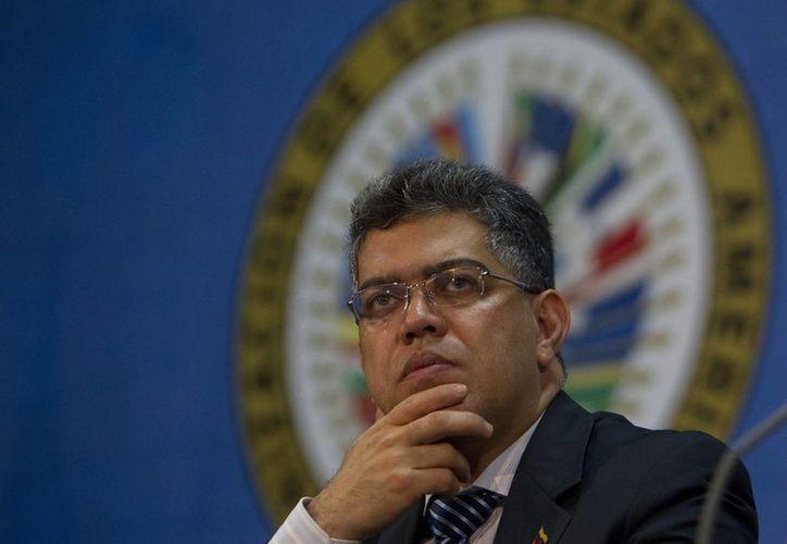 El ministro de Relaciones Exteriores de Venezuela, Elías Jaua. (EFE/Archivo)