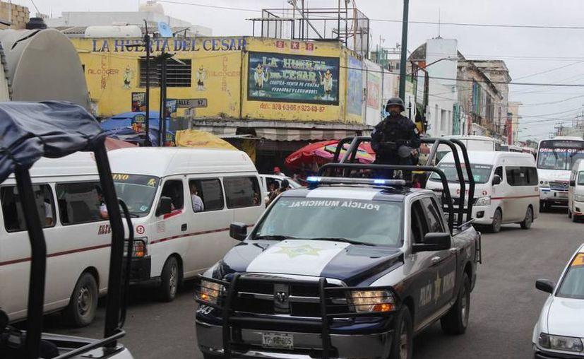 Elementos policíacos lograron detener a los acusados. (milenio.com)