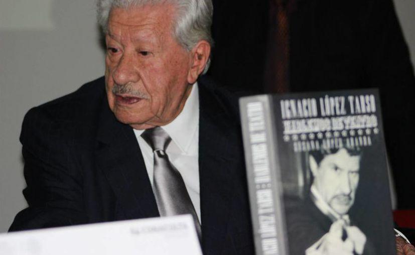 Con seis décadas de trayectoria artística, Ignacio López Tarso será objeto de un reconocimiento de la Lotería Nacional. (conaculta.gob.mx/Foto de archivo)