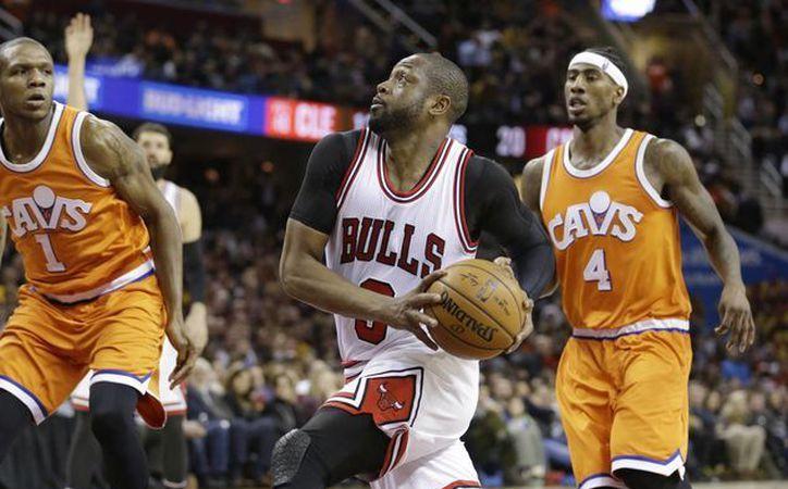 Cavaliers de Cleveland no pudieron contra Bulls de Chicago. (AP)