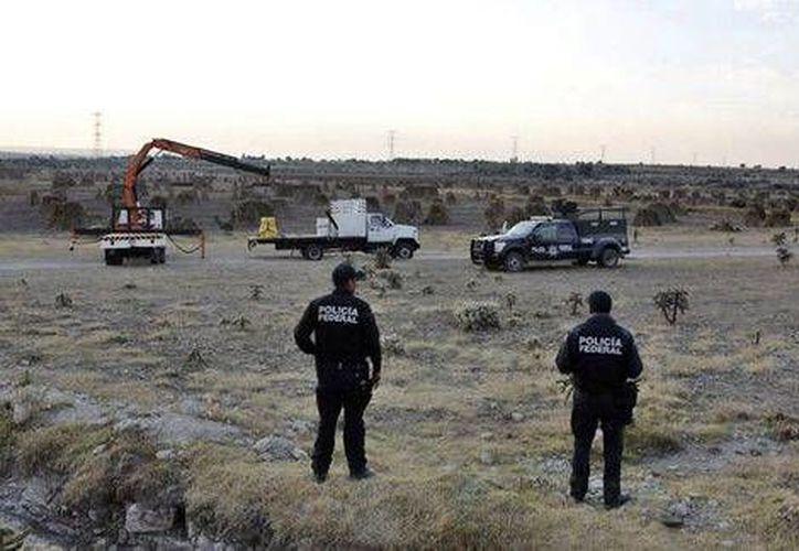 El material radiactivo fue sustraído de una bodega del municipio de Tultitlán. (Milenio)