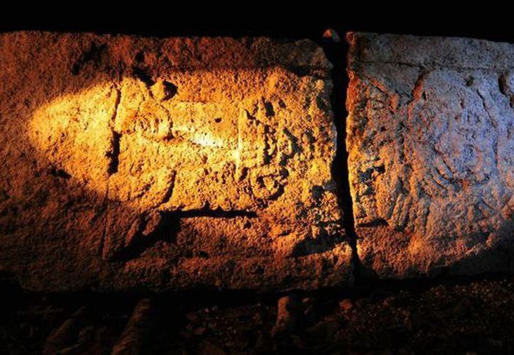 Las 19 estelas localizadas en la antigua ciudad maya de Chactún, recientemente descubierta en el sureste de Campeche. (Archivo/Notimex)