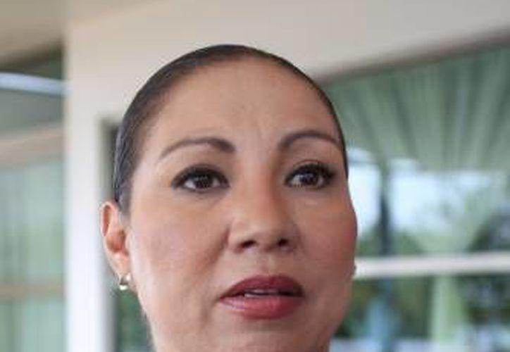 La delegada de la dependencia dijo que serán revisadas las denuncias ecológicas al proyecto. (SIPSE)