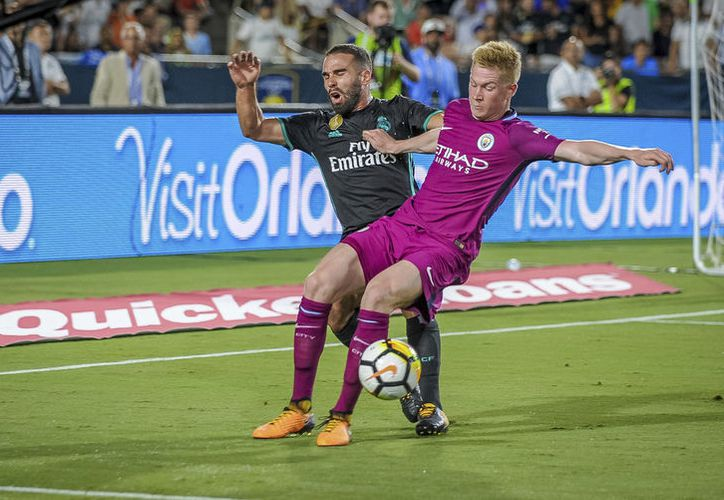 Manchester City arrolló a un Real Madrid completamente perdido. (Foto: AP)