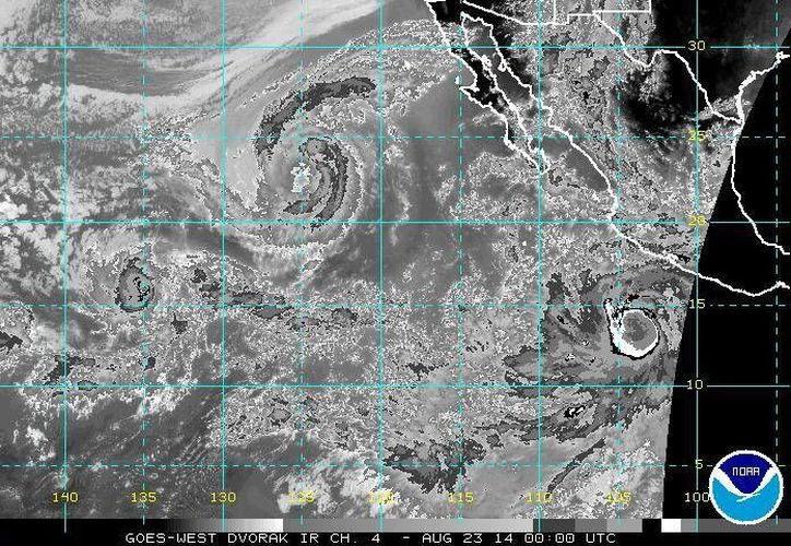 Los huracanes categoría cinco, conocidos también como superhuracanes, se desarrollan regularmente en el Océano Atlántico. (ssd.noaa.gov/Foto de contexto)