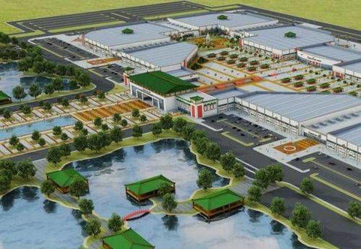Dragon Mart costará 180 millones de dólares y se construirá sobre el predio El Tucán.  (Foto de Contexto/lasillarota.com)