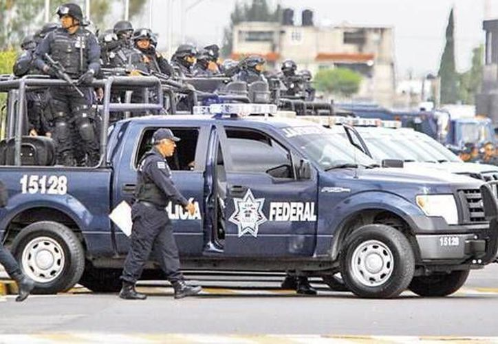 Un agente de la Policía Federal falleció al resultar herido durante un enfrentamiento con plagiarios en Tamaulipas. Fuerzas federales lograron liberar a tres secuestrados. (Twitter: @PoliciaFedMx)