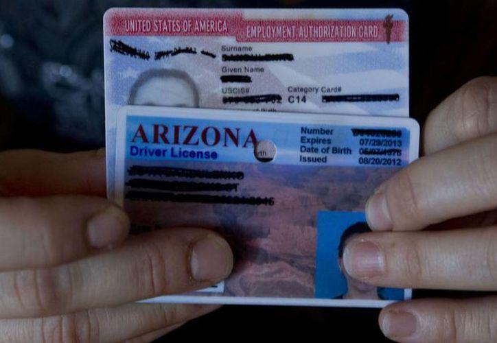 El estado de Arizona negaba las licencias de conducir a los 'dreamers' por no contar con un permiso de permanencia en los Estados Unidos. (usatoday.com)