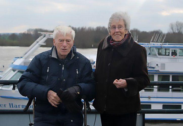 Los enamorados ancianitos estuvieron casados por 65 años hasta cumplir el deseo de morir juntos. (Foto: Daily Mirror).