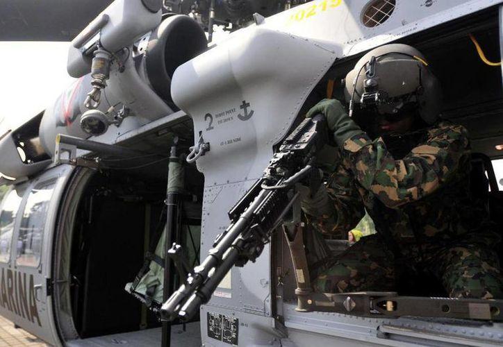 La Armada afirmó que los helicópteros Black Hawk fueron donados por el gobierno de Estados Unidos. (Foto de contexto: Internet)