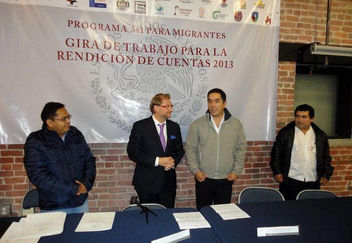 Las autoridades destacaron el orden de las organizaciones de paisanos, principalmente de los yucatecos. (Milenio Novedades)