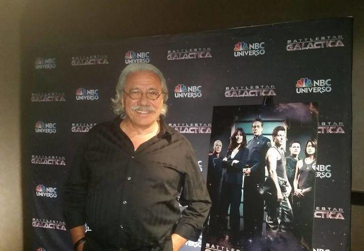 Edward James Olmos ha participado en películas como <i>Selena</i> y <i>Con ganas de triunfar</i>. (Notimex)