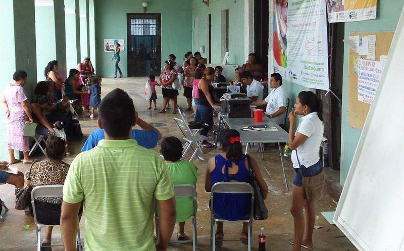 Refuerzan Afiliación Al Seguro Popular En Progreso Grupo Sipse