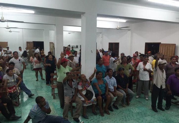 Con buenos resultados terminó la reunión entre ejidatarios de Juan Sarabia y autoridades de la SCT. (Redacción/SIPSE)