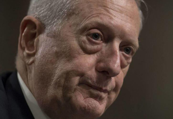 James Mattis sirvió 41 años en las Fuerzas Armadas de EU y fue comandante del Mando Central de ese país entre los años 2010 y 2013. (AP/J. Scott Applewhite)