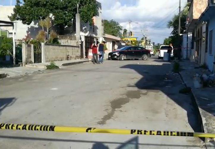 En el primer hecho, se hallaron 14 balas, dirigidas hacia un domicilio. (Foto: Gustavo Villegas)