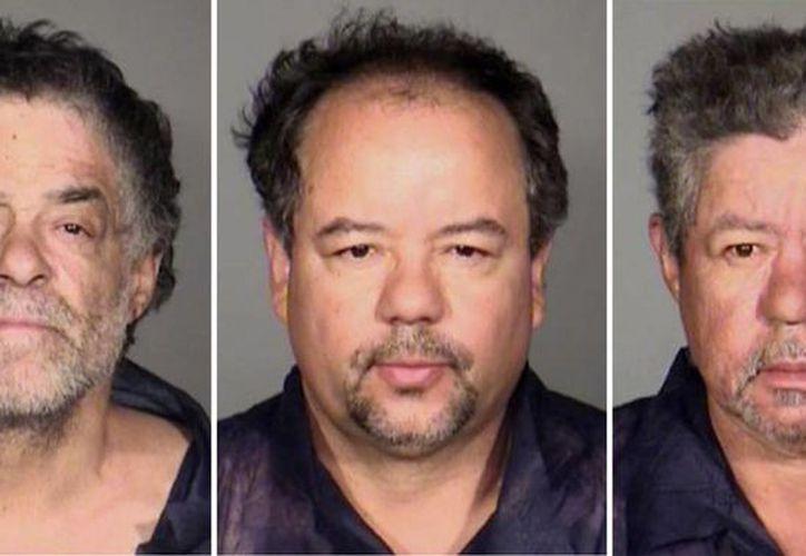 Onil Castro, Ariel Castro y Pedro Castro son acusados de mantener cautivas a los mujeres desde que desaparecieron. (Agencias)