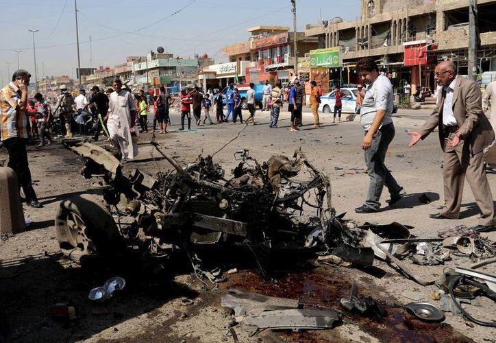Las zonas afectadas por los bombardeos fueron los barrios de Kadhimiya, Sadr City, Shaab, Shula, Jamila y Mahmoudiyah. (Agencias)