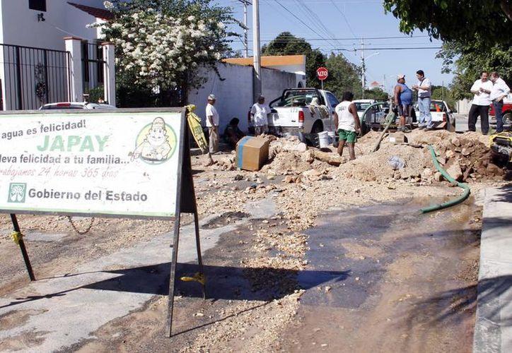Por reparaciones podría afectarse el suministro de agua en colonias del norte y oriente de Mérida. (Foto de contexto/SIPSE)