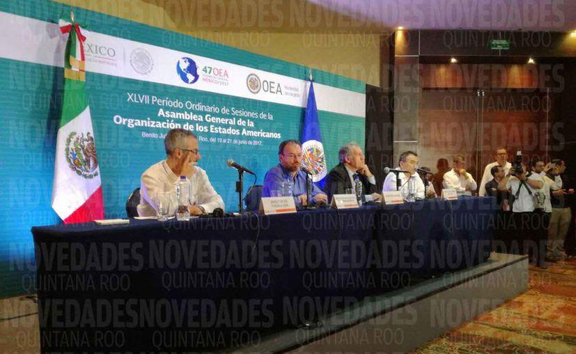 Dieron por terminado el período ordinario de sesiones de la organización. (Israel Leal/SIPSE)