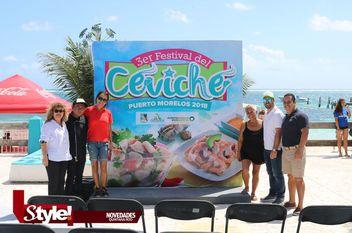 Realizan 3er Festival del ceviche