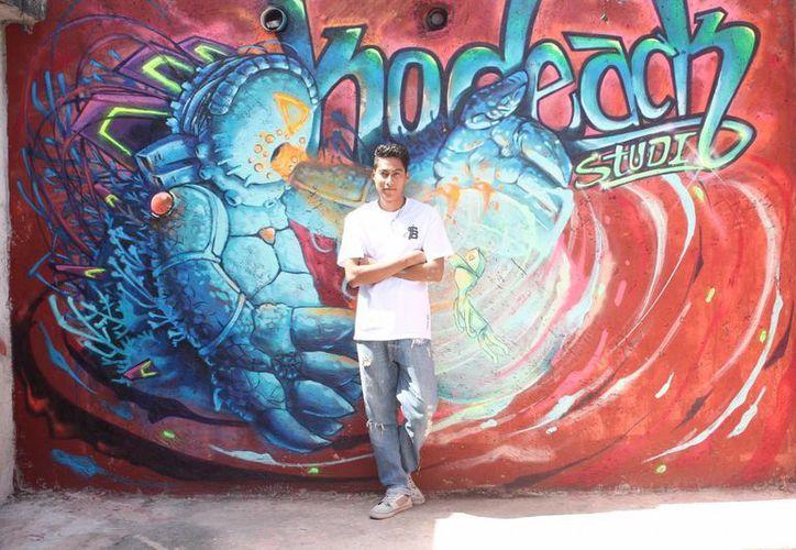 El sábado a partir de las 10 de la mañana los artistas estarán pintando los muros. (Redacción/SIPSE)