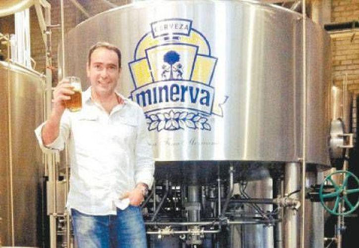 Jesús Briseño, presidente de la Asociación de Cerveceros de la República Mexicana. (Milenio)