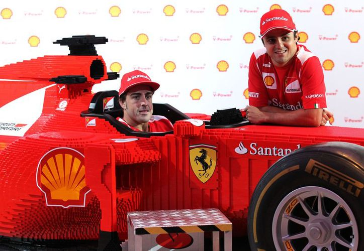 Va Ferrari a la conquista de Brasil. (Foto: Agencias)