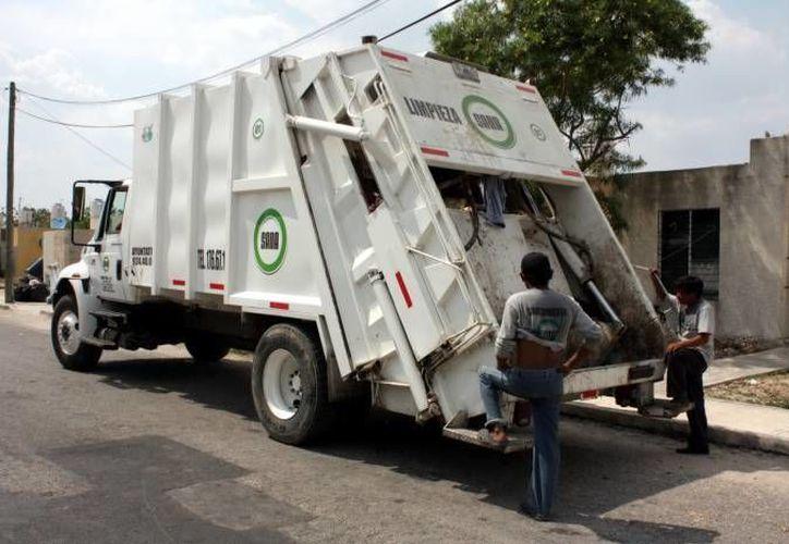 Las empresas recolectoras de basura no trabajan este jueves 1 de mayo. (SIPSE/Archivo)