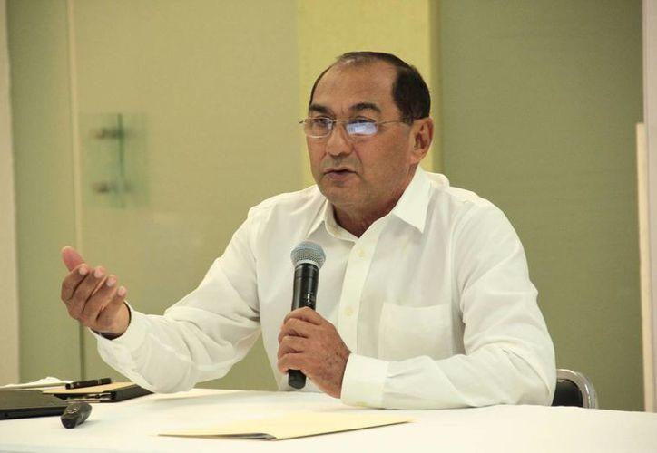 Raúl Godoy Montañez, titular de la Secretarísa de Investigación y Eduación Superior, subrayó que el Fondo de Innovación apoyará proyectos con sustento científico. (Jorge Acosta/SIPSE)