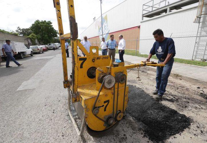 El AZStreet tiene muchas ventajas con respecto al concreto asfáltico en caliente. (SIPSE)