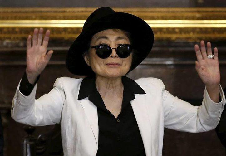 La artista japonesa sufre problemas de Gripe y Deshidratación, causa por la que fue hospitalizada en Nueva York.(AP)