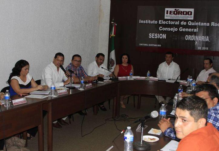 Los siete integrantes del Consejo General del Instituto Electoral de Quintana Roo, que deberán instalarse en los próximos días. (Ángel Castilla/SIPSE)
