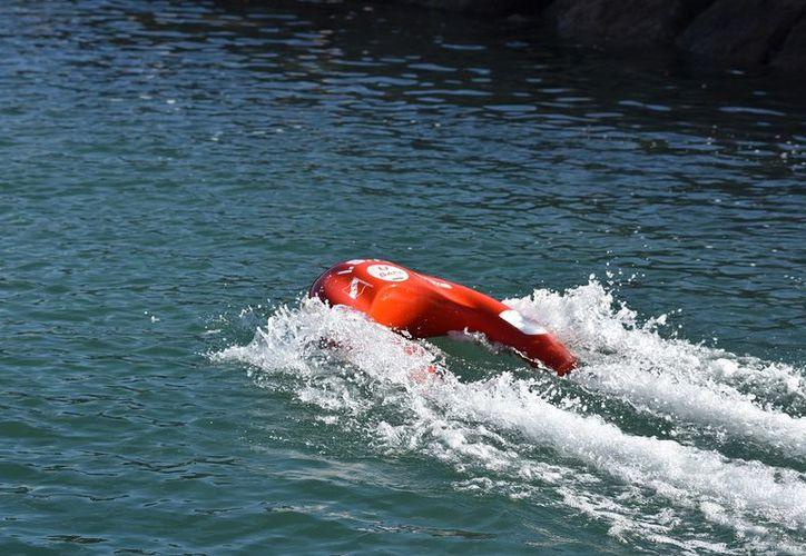 Dron acuático que es conducido vía remota. (Foto: Cortesía)