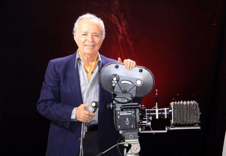 """Carlos """"Gemelo"""" Baqueiro, un apasionado de la fotografía y el cine comercial. (José Acosta)"""