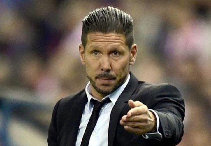 Diego Simeone, entrenador argentino de Atlético de Madrid, criticó con dureza a la Selección de Argentina (Foto: lmneuquen.com)