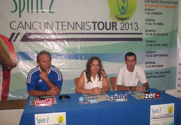 El Cancún Tennis Tour arrancará en su primera etapa del primero al nueve de marzo; las categorías en las que se jugará serán adultos, infantiles y juveniles en ambas ramas. (Redacción/SIPSE)