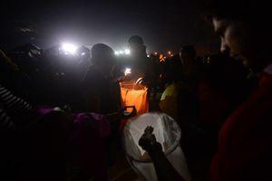 Globos de cantoya iluminan el altruismo en Yucatán