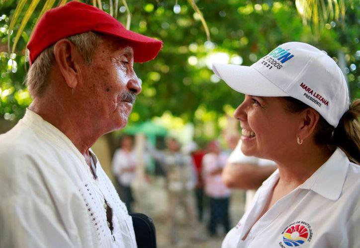 La presidenta refirió que el programa busca crear conciencia entre la ciudadanía. (Redacción/SIPSE)