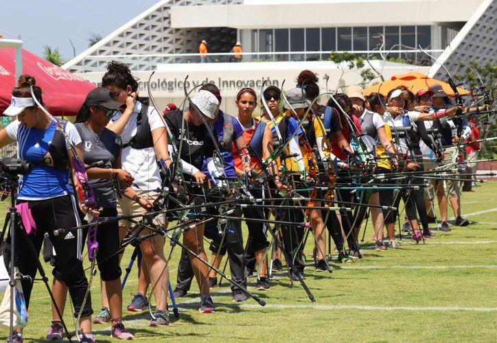 """Los """"flechazos"""" le siguen dando medallas a la Anáhua Mayab.(Foto:Novedades Yucatán)"""