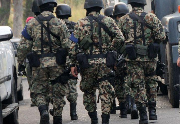 la CNDH consideró que sí hubo una violación al derecho a la libertad y seguridad personal por parte de los elementos de la Marina. (Foto: Proceso)