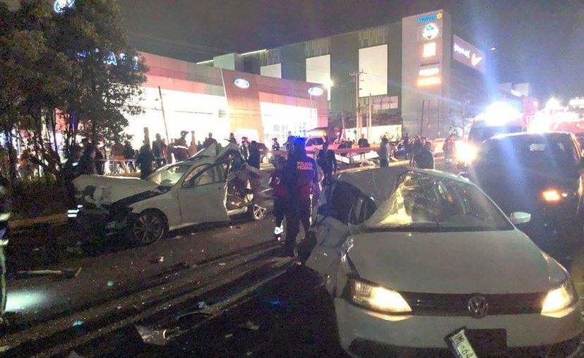 Las autoridades también señalaron que un tráiler impactó a varios vehículos, a la altura de Puerta Santa Fe, en la Alcaldía Álvaro Obregón. (Reporte Índigo)