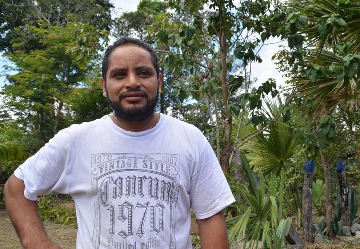 Juan Carlos Cobos Vázquez, presidente de la comisión de Cultura en Solidaridad. (Yenny Gaona/SIPSE)