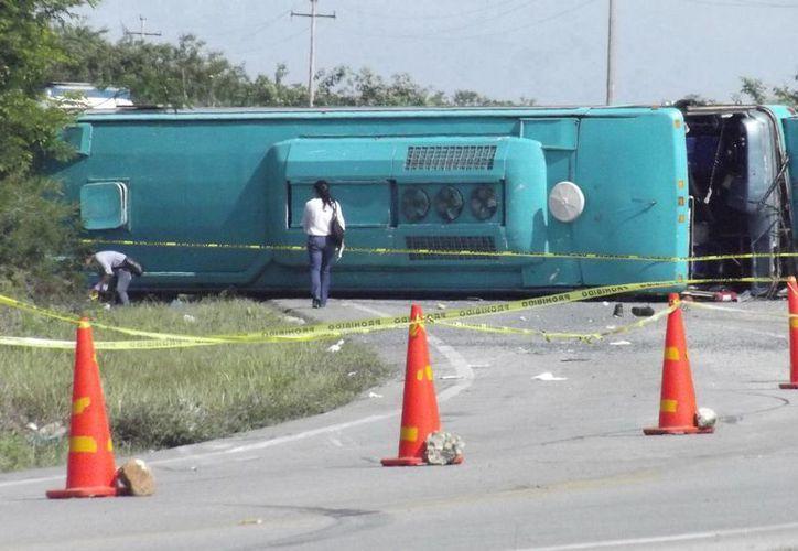 Los lesionados fueron transportados a hospitales de Mérida para su atención Médica. (SIPSE)